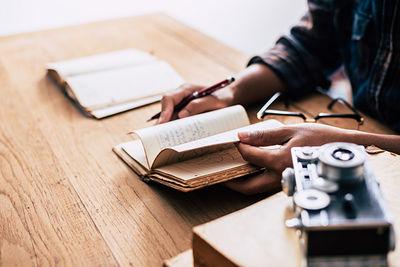 رابطه من و کاغذ و قلم