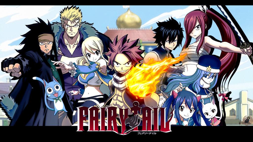انیمه فری تیل  ( Fairy Tail )