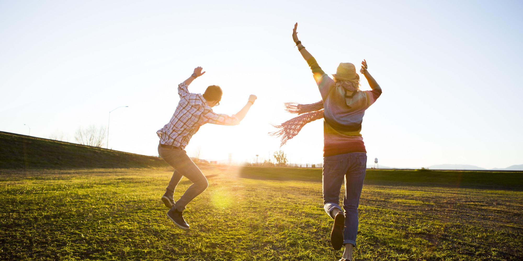 شاد بودن - در لحظه حضور داشتن